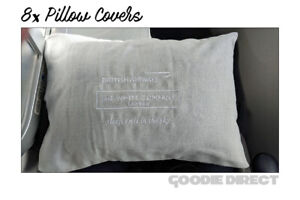 8x British Airways Pillow Cases The White Company London Pillow case Small size