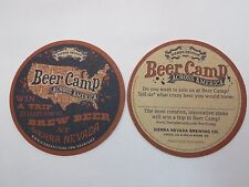 Beer Coaster ~ 2014 SIERRA NEVADA Beer Camp Across America ~ Win A Brewing Trip!