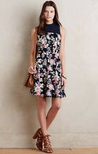 NEW Anthropologie Ashbury Dress Size 4 Floral Corduroy