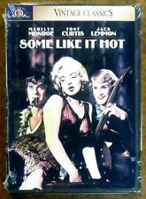 """""""Some Like It Hot"""" (1959) - Marilyn Monroe - Tony Curtis - Dvd - Sealed"""