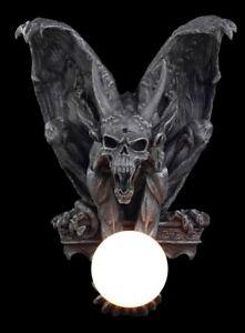 Devil Wall Lamp - Decorative Figurine Gothic Lamp Horror Gargoyle Horns