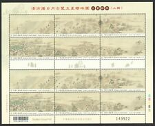 REP. OF CHINA TAIWAN 2020 ANCIENT CHINESE PAINTINGS (SUN MOON & 5 PLANETS) SHEET