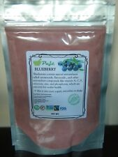 BLUEBERRY Powder 8oz 1/2LB - antioxidants carotenoids, flavonoids, vision - PAJE