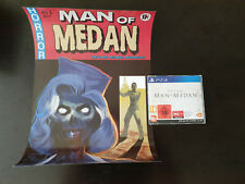Man of Medan PS4 Promo Press Kit - LIMITED POSTER - EXCLUSIVE