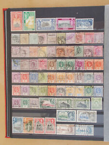 CEYLON good coll. 277 stamps all diff. - 6 scans   # Lot 4341