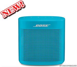 NEW Bose SoundLink 2 II Color Bluetooth Wireless Speaker Aquatic Blue Turquoise
