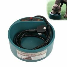 Pet Dogs Water Bowl Puppy Cat Drinking Outdoor Winter Heated Feeding Dispensers