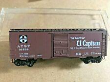 "2002 Microtrains Santa Fe ""El Capitan "" special run 2-02 40' boxcar, NIB"