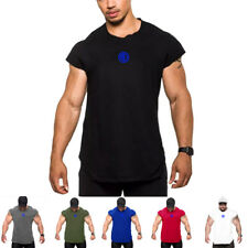 Men's Latest Design Gym Tank Tops Singlet Bodybuilding Stringer Muscle Clothes