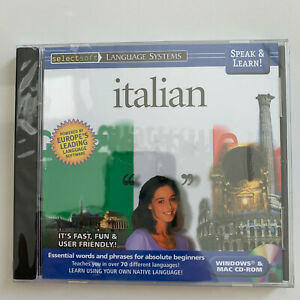Speak & Lean! Italian - PC/MAC *** BRAND NEW ***