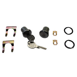 Pair Door Lock Cylinder Kit 5070006 For Chevrolet S10 Blazer GMC Buick Cadillac
