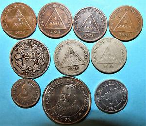 Nicaragua Coins ( 10 )