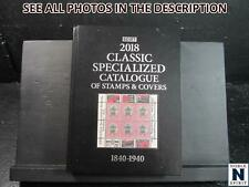 NobleSpirit No Reserve(Th2) Great 2018 Scott Specialized Catalog, 1840-1940