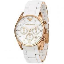 Emporio Armani AR5920 White Rose Gold Quartz Women's Ladies Watch