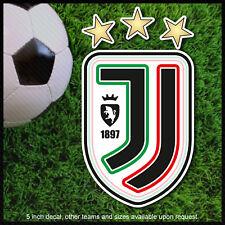 Juventus decal sticker vinyl Italy ronaldo Calcio new logo CR7 bumper
