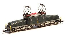 8856 Marklin Z-scale SBB Be 6/8 Crocodile grey chassis Swiss Krokodil 5 POLE