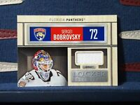 2019-20 SP Game Used Locker Essentials Jersey #LE-SB Sergei Bobrovsky Panthers