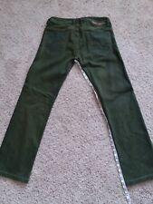 Mens Green Diesel Safado Jeans.....Pantalones de Hombre Marca Diesel