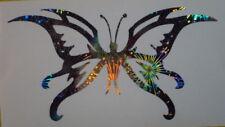 Holographic Fireworks Butterfly Butterflies Vinyl Car Window Decal Sticker