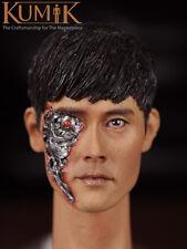 Kumik 1/6 Head Sculpt Lee Byunghun Terminator Genisys T-1000 battle damage