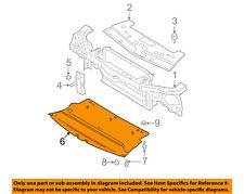 FORD OEM Mustang Radiator Core Support-Lower Splash Shield Deflector 5R3Z17626BA