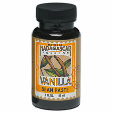 Brand New LorAnn Oils & F Natural Bourbon Madagascar Vanilla Bean Paste 4 fl oz.