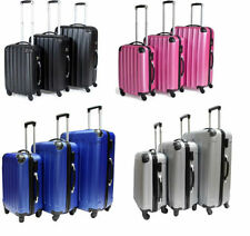 Spinner (4) Hard Luggage with Secure (Lock Included)