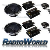 "Vibe Blackair 6 Black Edition Component 6.5"" 165mm 3-way Car Speakers 780W"