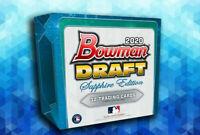 2020 Bowman Draft Sapphire Edition Factory Sealed Baseball Hobby Box!