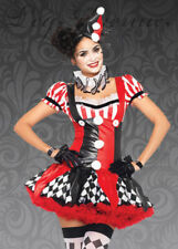 Leg Avenue Harlequin Clown Costume
