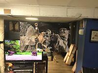 NEW! HUGE! 45x27 VINCE LOMBARDI vinyl Banner POSTER bart Starr Jerry Kramer Art.
