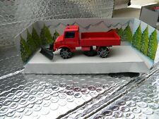 Solido Toner Gam IV Mercedes Snow Plow 1/50 scale Made in France