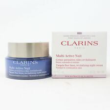 Clarins Multi-Active Night Cream Normal To Combination Skin 1.6oz  New With Box