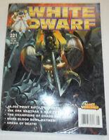 White Dwarf Magazine 40K Ork Wartrak & War Trukk No.221 103114R