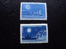 ROUMANIE - timbre yvert et tellier  aerien n° 144 145 n** (C5) stamp romania (A)
