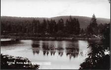 Rothbury, Northumberland - Debdon North Lake - RP postcard by R Johnston c.1920s