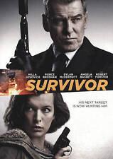 Survivor-Pierce Brosnan-Milla Jovovich-Angela Bassett-DVD-SEALED