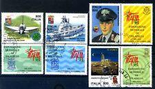 ITALIA 1998  - EXPO 98 SERIE USATA CON APPENDICI