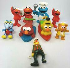 Lot of 9 Sesame Street PVC Figures: