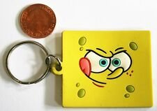 SPONGEBOB SQUAREPANTS Official Rubber KeyRing By Pyramid