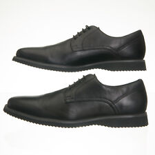 Kenneth Cole New York Inter-Grade Black Leather Oxfords - Mens Size 7 M