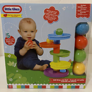 Little Tikes Ball Drop and Roll 9 months plus+ Play Time Toy Colorful NEW B12