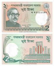 Bangladesh 2 Taka 2013  P-52c Banknotes UNC
