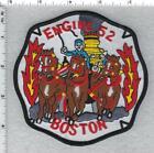 Boston Fire Department (Massachusetts) Engine 52 Shoulder Patch