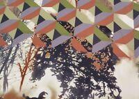 Abstract Print Polyester Crepe Dress Fabric PH-5703-M