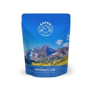 Food Grade Calcium Bentonite Clay 2 LB Bentonite Montmorillonite Powder Vitamins