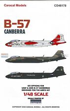 1/48 Caracal Decals #48178 B-57 Canberra