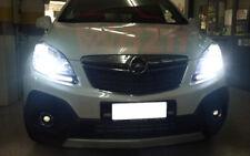 2x Lampade H7 40W Led Luminoso Bianco 6000K Anabbaglianti Opel Mokka 2012-2018