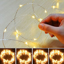 10M 100 Led Solar Power Fairy Light String Lamp Party Xmas Deco Garden Outdoor