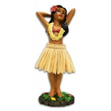 """Miniature Hawaiian Hawaii Dashboard Doll Hula Wahine Girl Posing 4"""" #40795"""